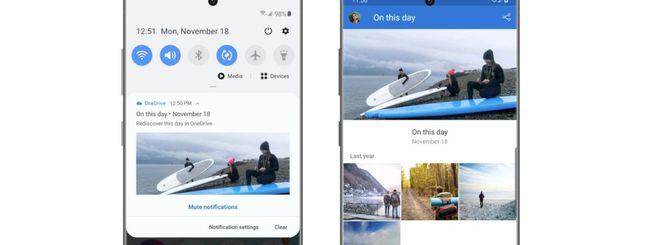 Galaxy Note 10, integrazione nativa con OneDrive