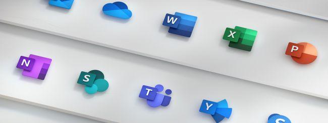 Microsoft ridisegna le icone di Office