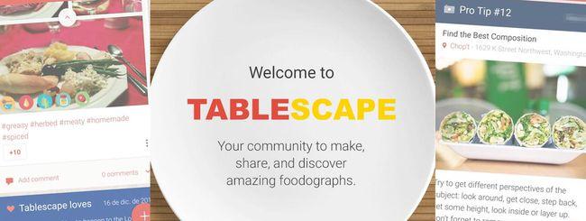 Google chiude il progetto Tablescape