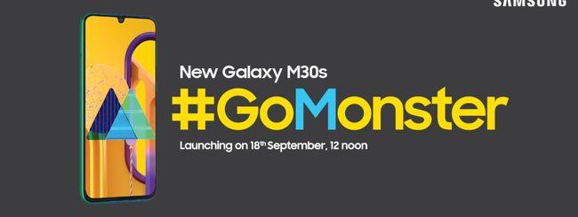 Samsung Galaxy M30s, annuncio il 18 settembre