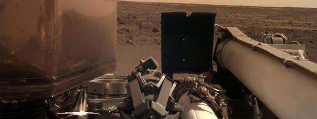 NASA InSight arriva su Marte, le prime immagini