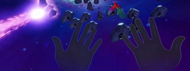 Oculus Quest riconosce le mani senza controller