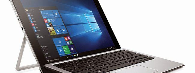HP Elite x2 1012, ibrido per utenti business