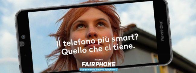 Vodafone: debutta Fairphone 3, lo smartphone etico