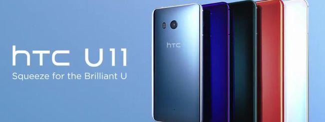 HTC U11, novità in arrivo per Edge Sense