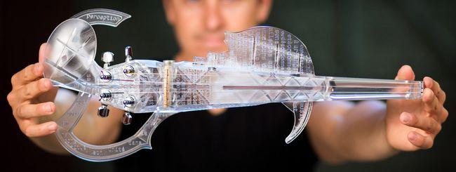 3Dvarius, il violino creato con le stampanti 3D