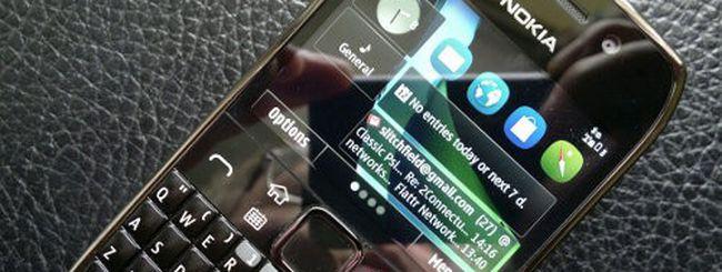 Symbian Belle su Nokia E6: l'update trapelato online