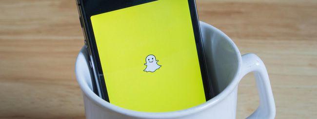 Snapchat ritorna alle origini su iOS