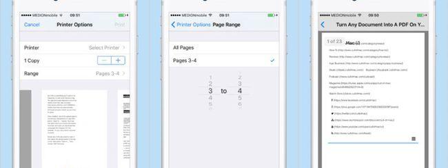 Salvare qualunque contenuto in PDF su iPhone e iPad