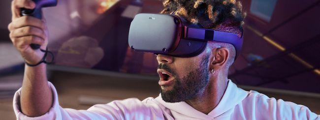 Facebook annuncia Oculus Quest, nuovo visore VR