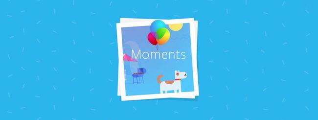Facebook Moments, condivisione facile delle foto