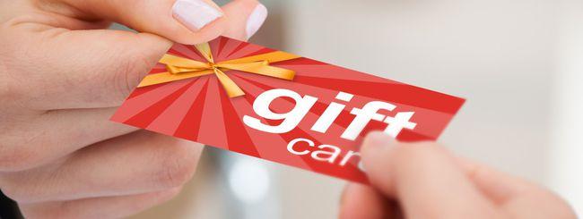 Coinbase, gift card con le criptovalute