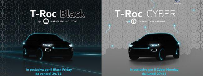 Volkswagen T-Roc Black e Cyber su Amazon