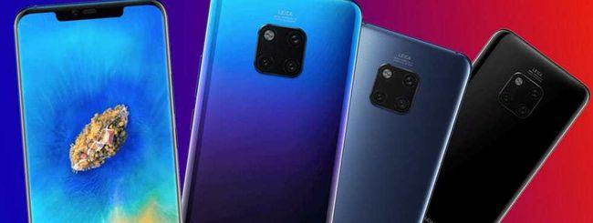 Huawei Mate 20 e Mate 20 Pro, possibili specifiche