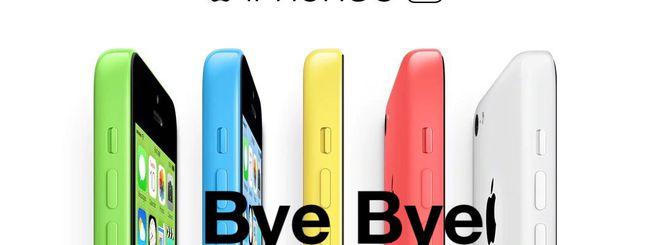 iPhone 5c diventa obsoleto dal 31 ottobre