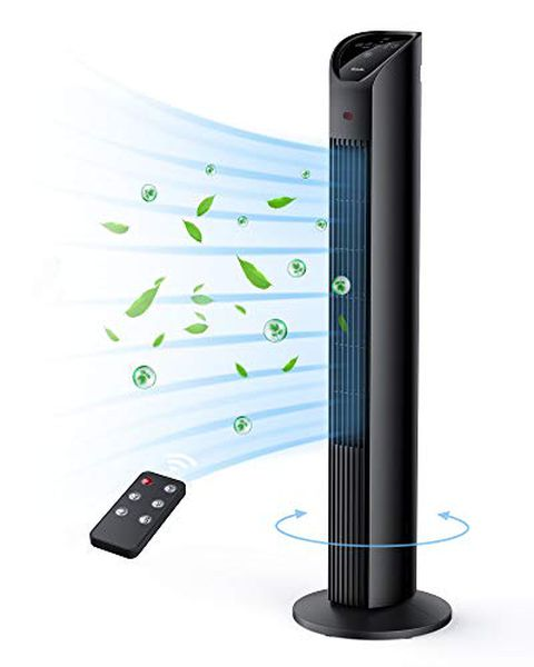 TECHVILLA Ventilatore a Torre con Telecomando