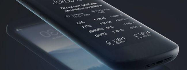 Il nuovo YotaPhone a doppio schermo al MWC 2014