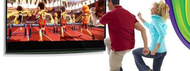 Kinect, 100 metri da record
