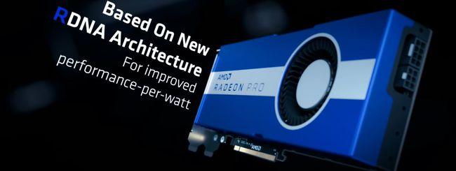 AMD Radeon Pro W5700, GPU per workstation