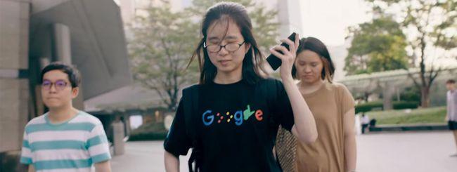 Google Maps, più indicazioni per i non vedenti