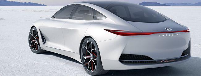 INFINITI Q Inspiration, la concept car EV di lusso