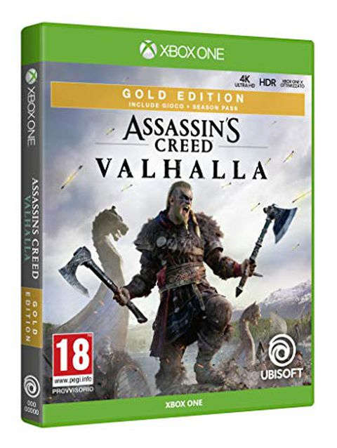 Assassin's Creed Valhalla (Gold Edition, Xbox One)