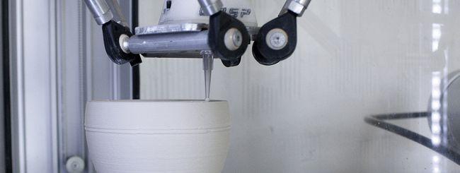 Stampanti 3D: da WASP un estrusore per la ceramica