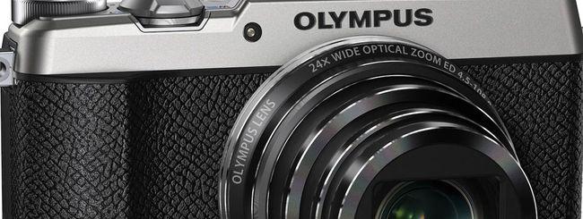 Olympus Stylus SH-2: stile vintage e anima hi-tech