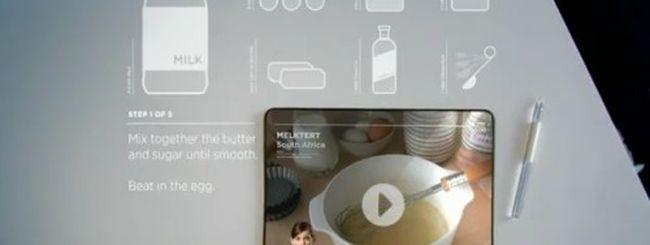 Microsoft sogna un futuro multitouch e interattivo