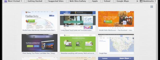 Firefox 13 e le thumbnail indiscrete