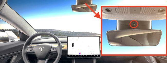 Tesla Model 3, una telecamera inquadrerà chi guida