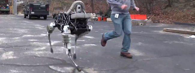 Spot, il cane robot di Google e Boston Dynamics