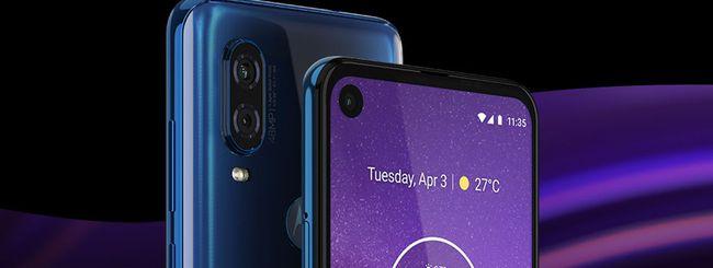 Motorola One Action, render dello smartphone