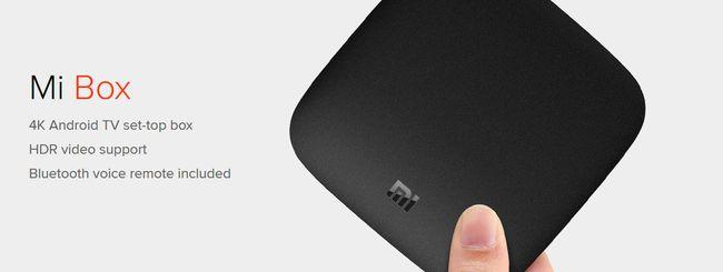 Xiaomi Mi Box, set-top box 4K con Android TV