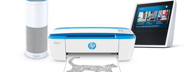 Stampanti HP, controllo vocale con Alexa