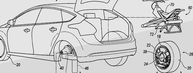 Ford: la ruota diventa un monociclo elettrico