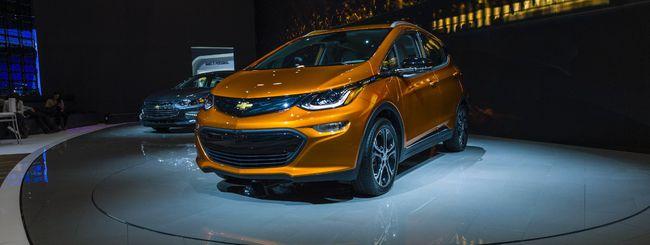 GM, almeno 20 auto elettriche entro il 2023