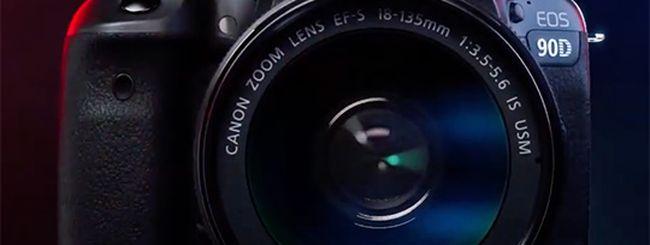 Canon EOS 90D ed M6 Mark II: tutte le caratteristiche online