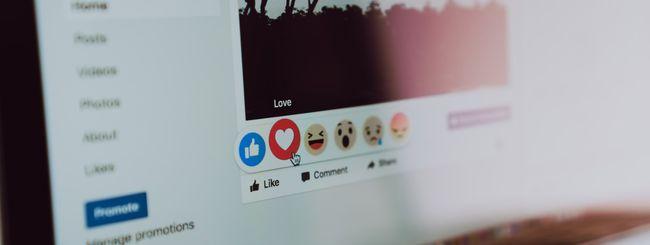 Facebook, condivisione dello schermo per i Live