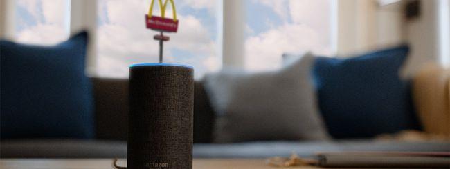 McDonald's, ora puoi candidarti con Alexa