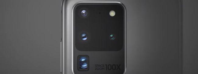 Samsung Galaxy S20, fotocamere rivoluzionarie