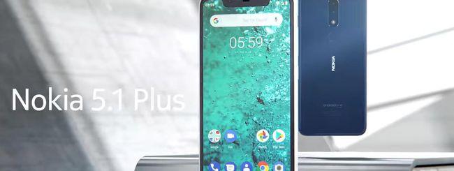 Nokia 5.1 Plus arriva anche in Italia