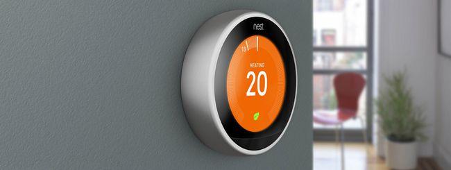 Nest: il termostato di terza generazione in Europa