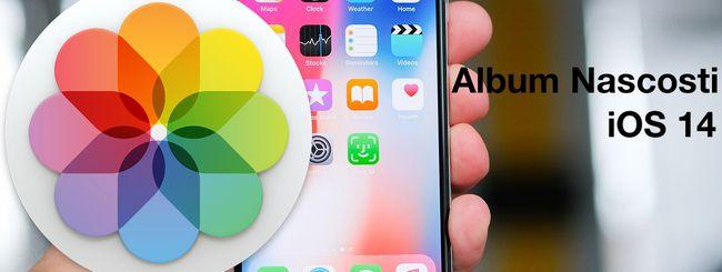 iOS 14, rivelare (o nascondere) gli Album Nascosti