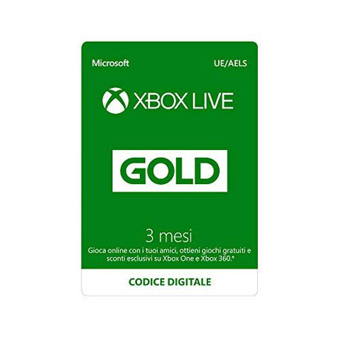 Abbonamento Xbox Live Gold (3 Mesi)