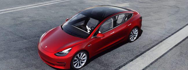 Tesla Model 3, ecco i prezzi italiani