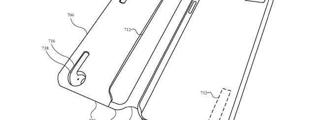 Apple brevetta il Case per iPhone che ricarica AirPods