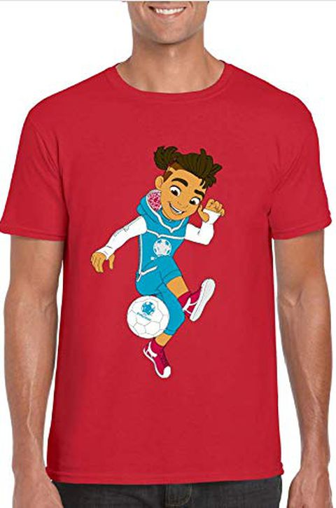 UEFA EURO 2020 Maglietta 'Mascot' Rossa