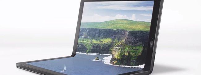 Lenovo svela il suo ThinkPad X1 pieghevole