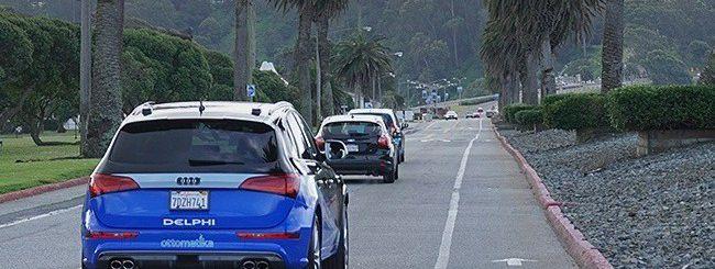 L'auto a guida autonoma attraversa gli USA